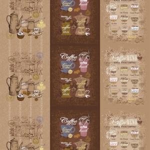 Рогожка 150 см 11475/1 Кофейня