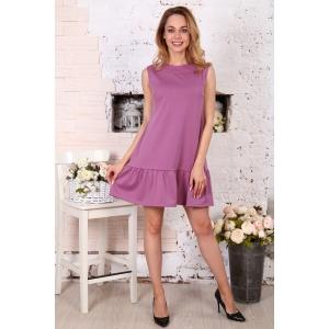 Платье Валерия без рукава брусника Д508 р 54
