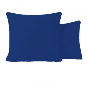 Наволочка бязь гладкокрашенная 120 гр/м2 упаковка 2 шт 40/60 цвет синий