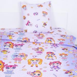 Детское постельное белье 11392/1 Лолита 1.5 сп поплин