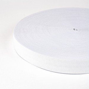 Резинка вязаная 25мм 40м белая