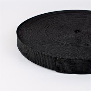 Резинка вязаная 30мм 40м черная