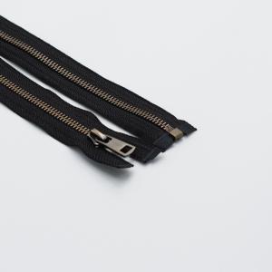Молния металл №5ТТ антик разъем 75см D580 черный