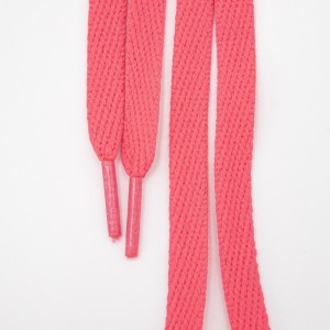 Шнур плоский розовый 120см уп 2 шт