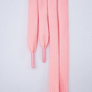 Шнур плоский розовый люминесцентные 90см 1 шт