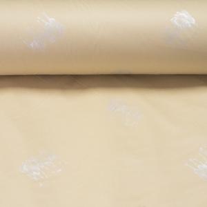 Тик пуходержащий хлопок 225 см 130 +/- 5 гр/м2 верблюд цвет бежевый