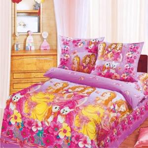 Бязь 120 гр/м2 детская 220 см 9405 Красавицы розовый
