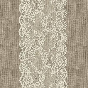 Ткань на отрез дорожка 50 см 5494/1 Кружево