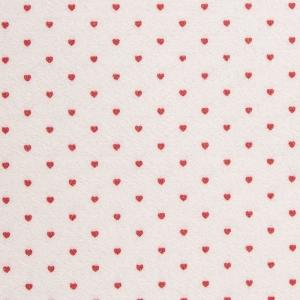 Фетр с сердечками 1 мм 30х30 см в упаковке 4 шт КЛ22474 цвет бежевый