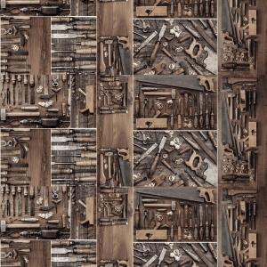 Полотно вафельное 150 см набивное арт 149 Тейково рис 5524 вид 1 Инструменты