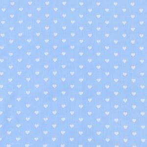 Ткань на отрез бязь плательная 150 см 1746/3 цвет голубой