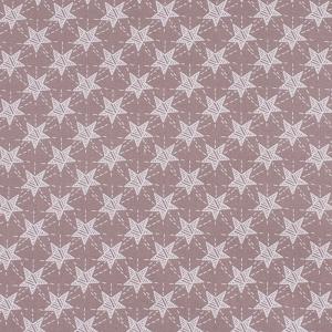 Ткань на отрез бязь ГОСТ Шуя 150 см 9947/4 Звезды цвет кофе