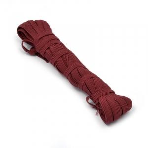 Резинка 8 мм цвет бордовый уп 10 м