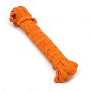 Резинка 8 мм цвет оранжевый уп 10 м