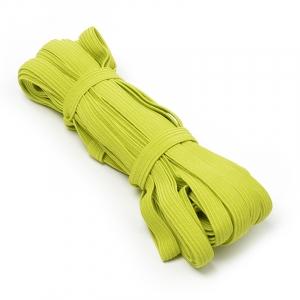 Резинка-продежка 10мм С1049Г7 цвет салатовый 10/10 уп 10 м