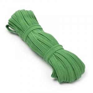 Резинка-продежка 10мм С1049Г7 цвет зеленый 10/10 уп 10 м