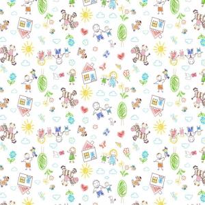Фланель 90 см набивная арт 514 б/з Тейково рис 5539 вид 5 Рисунки карандашами
