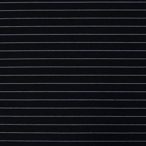 Ткань на отрез футер с лайкрой Жаккард цвет темно-синий