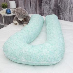 Подушка для беременных U-образная 402/16 Дамаск цвет мята