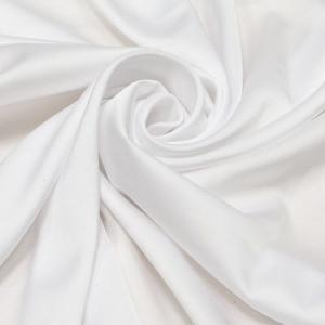 Шелк искусственный 100% полиэстер, цвет белый ш. 220 см