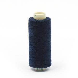 Нитки бытовые Dor Tak 40/2 366м 100% п/э, цв.418 синий