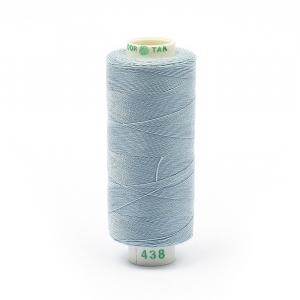Нитки бытовые Dor Tak 40/2 366м 100% п/э, цв.438 голубой