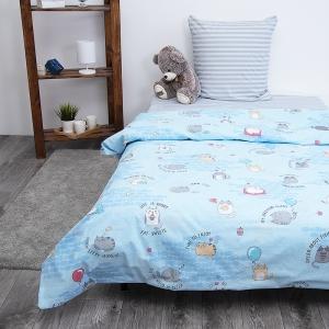 Детское постельное белье из бязи 1.5 сп 3033-1 Котики