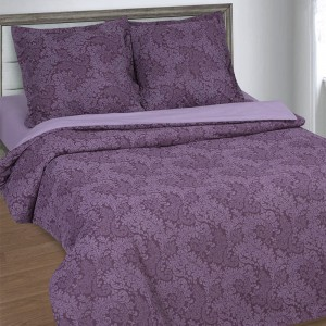Поплин 220 см 115 г/м2 11572/1 Вирджиния фиолетовая основа
