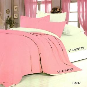 Полисатин гладкокрашеный 220 см цвет 14-1714 розовый