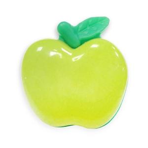 Пуговица детская сборная Яблоко 21 мм цвет салатовый упаковка 24 шт