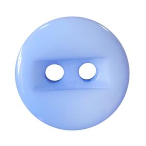 Пуговицы Блузочные 2 прокола 15 мм цвет 729 голубой упаковка 24 шт