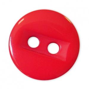 Пуговицы Блузочные 2 прокола 15 мм цвет 729 красный упаковка 24 шт