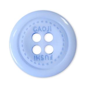 Пуговицы Блузочные 4 прокола 15 мм цвет 728 голубой упаковка 24 шт