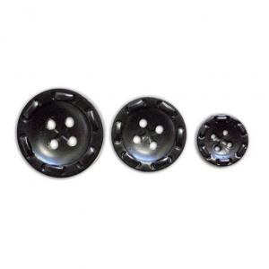 Пуговицы 18 мм цвет П4П001/28-580 черный упаковка 24 шт