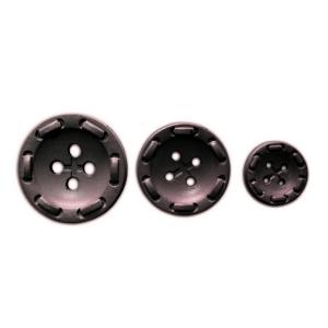 Пуговицы 25 мм цвет П4П001/40-088 т-коричневый упаковка 24 шт