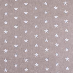 Ткань на отрез бязь плательная 150 см 1700/18 цвет кофе