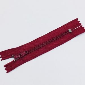 Молния брючная  №4 н/р 15см бордо