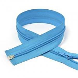 Молния спиральная разъёмная 75см; цвет: 331 - голубой