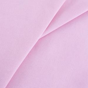 Отрез 150х150 Бязь гладкокрашеная 120 гр/м2 150 см цвет розовый