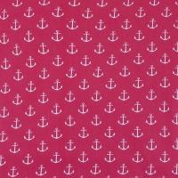 Ткань на отрез бязь плательная 150 см 1788/20 цвет красный