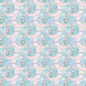 Ткань на отрез перкаль 150 см 13234/1 Owls Модель 4