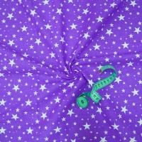 Ткань на отрез бязь плательная 150 см 1556/17 цвет фиолетовый