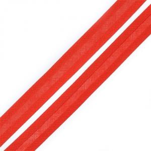 Косая бейка хлопок ширина 15 мм (132 м) цвет 7028 красно-оранжевый