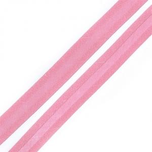 Косая бейка хлопок ширина 15 мм (132 м) цвет 7046 розовато-лиловый