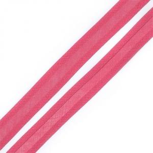 Косая бейка хлопок ширина 15 мм (132 м) цвет 7048 т-розовый