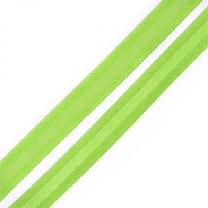 Косая бейка хлопок ширина 15 мм (132 м) цвет 7051 желто-зеленый