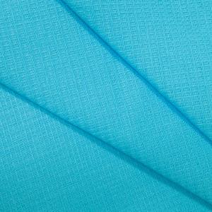 Вафельное полотно гладкокрашенное 150 см 165 гр/м2 цвет голубой