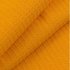 Вафельное полотно гладкокрашенное 150 см 165 гр/м2 цвет оранжевый