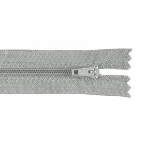 Молния пласт юбочная №3 20 см цвет 299 св-серый
