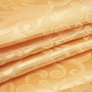 Портьерная ткань 150 см на отрез 100/2С цвет 12 золото